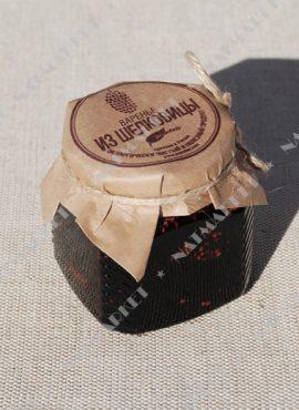 Варенье «Экосбор» из шелковицы черной 250мл/320гр