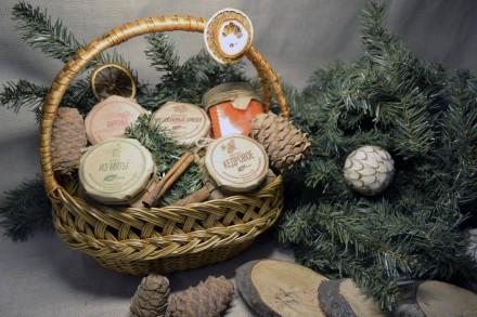 Подарочный набор «Сладкая корзина»