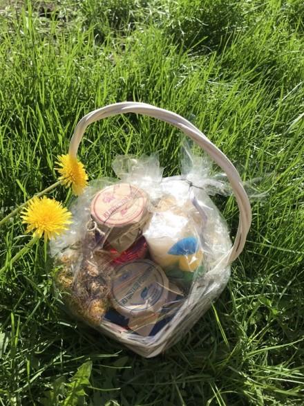 Подарочный набор «Цветочная корзина»