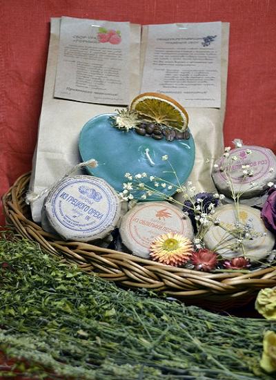 Подарочный набор «Сладкий букет» в миниатюре