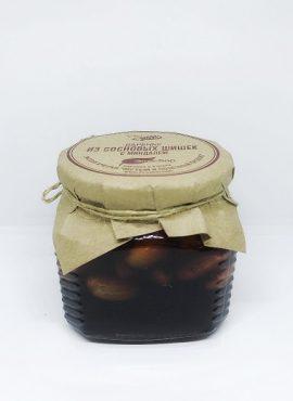 Варенье из сосновых шишек с миндалем 350г