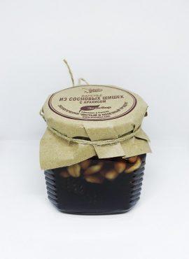 Варенье из сосновых шишек с арахисом 350г