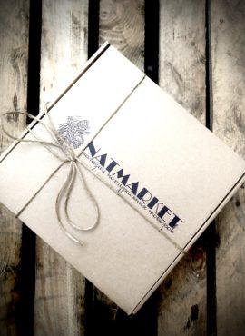 Подарочный набор в крафт-коробке
