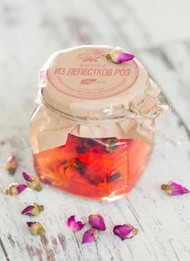 Варенье «Экосбор» из лепестков роз 250мл/320гр