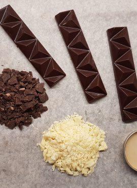 Натуральный темный шоколад, батончик 30г
